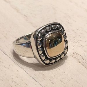 JAMES AVERY | Beaded Square Dome Ring
